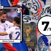 Les notes des Bleus après France-Bulgarie : Giroud éternel, Pogba et Griezmann (déjà) en mode Euro