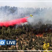 Une forêt en feu aux abords de Jérusalem, plusieurs villages évacués