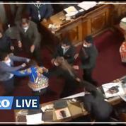 Bolivie: des parlementaires s'expliquent à coups de poings