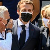 «Allez jusqu'au bout»: Emmanuel Macron encourage les Bleus avant l'Euro