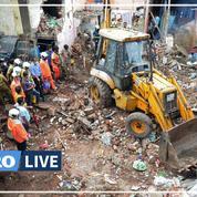 Inde : au moins 11 morts et sept blessés à Bombay dans l'effondrement d'un immeuble
