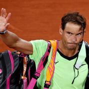 Et Rafael Nadal chuta : «Ce n'était pas mon jour»