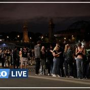 L'esplanade des Invalides évacuée après un rassemblement de milliers de personnes