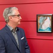 Acheté 5 dollars, un tableau peint par David Bowie estimé plus de 9.000 dollars aux enchères
