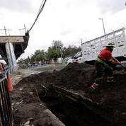 L'accident du métro de Mexico provoqué par un «défaut structurel»