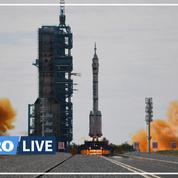 La Chine a envoyé trois astronautes vers sa station spatiale