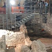 Un bel ensemble de fresques romaines découvert lors de la restauration d'un cinéma à Vérone