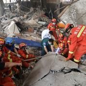 Chine: huit arrestations après une explosion au gaz ayant fait 25 morts