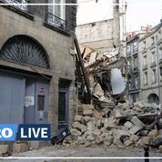 Bordeaux : trois blessés dans l'effondrement de deux immeubles