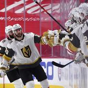 Las Vegas égalise contre Montréal