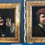 Deux peintures du XVIIe siècle retrouvées dans une benne à ordures sur une autoroute allemande