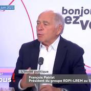 «On n'a pas des militants, on a des cliqueurs» : François Patriat étrille LREM, parti «trop virtuel»