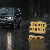 Intempéries : une nouvelle journée d'intenses orages attendue dans l'est de la France