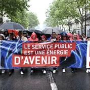 Des milliers de manifestants à Paris pour un «service public de l'énergie»