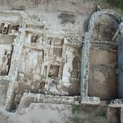 Une basilique paléochrétienne émerge du port romain d'Empuries en Catalogne