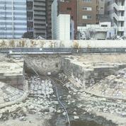 Une section de la première ligne de train japonaise inaugurée en 1872 découverte à Tokyo