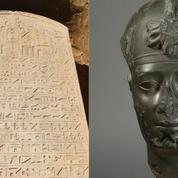 Une stèle érigée par un pharaon de la Basse époque égyptienne découverte dans le delta du Nil