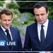 Emmanuel Macron ouvre la porte à une entrée du Kosovo dans l'Union européenne