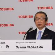 Le président de Toshiba éjecté par les actionnaires lors d'un vote