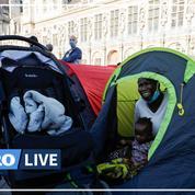 Sans-abri: le parvis de l'Hôtel de Ville de Paris évacué, 560 migrants logés