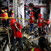Bangladesh : une explosion due au gaz détruit un bâtiment, sept morts et 50 blessés