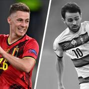 Tops/Flops Belgique-Portugal : l'éclair de l'autre Hazard, Bernardo Silva hors sujet