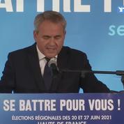 Élections régionales 2021 : Xavier Bertrand prêt à aller à «la rencontre de tous les Français»