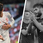 Tops/Flops Croatie-Espagne : Morata en chef de file, la défense croate a coulé