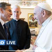 Le pape François reçoit le secrétaire d'État américain Antony Blinken, premier contact avec la présidence Biden