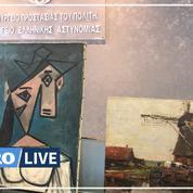 Volés à la pinacothèque d'Athènes en 2012, un Picasso et un Mondrian retrouvés par la police grecque