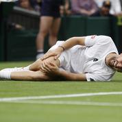 Wimbledon : Malmené, Federer profite de l'abandon de Mannarino dans le quatrième set