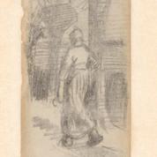 Depuis plus de 130 ans, ce marque-page dessiné par Vincent Van Gogh était glissé dans un livre
