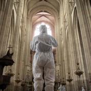 La cathédrale de Nantes, incendiée il y a un an, devrait rouvrir partiellement fin 2023