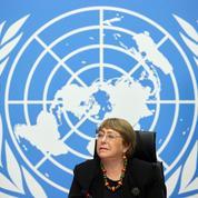 Bachelet appelle l'Autorité palestinienne à la retenue samedi