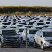 Etats-Unis: en forme, les ventes de voitures commencent à pâtir de la baisse des stocks