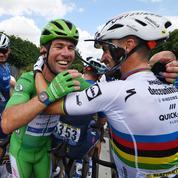 Tour de France: Cavendish comme chez lui à Châteauroux