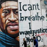 À Bethléem, un street artiste palestinien fait de George Floyd un héros pour la cause palestinienne