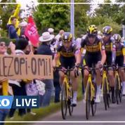 Tour de France : la spectatrice à l'origine d'une chute massive répondra de «sa bêtise» devant la justice