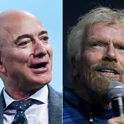Course à l'espace et choc d'ego entre Jeff Bezos et Richard Branson