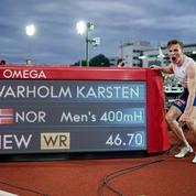 Athlétisme : nouveau recordman du monde, Warholm couronné roi du 400m haies