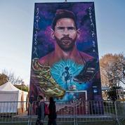 Une fresque murale géante célèbre Messi, venu «d'une autre galaxie», dans sa ville natale