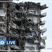 Floride : 126 personnes encore portées disparues, l'immeuble va être démoli