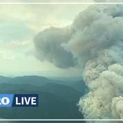 Canicule : une centaine d'incendies font rage dans l'ouest du Canada et en Californie