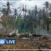 Philippines : 52 personnes décédées dans l'accident d'un avion militaire