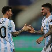 Copa America : l'Argentine de Messi à une marche d'un choc XXL face au Brésil