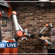 «Pazzi», ce robot qui prépare des pizzas tout seul à Paris
