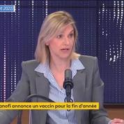 Les résultats de phase 2 du vaccin de Sanofi «sont excellents», salue Agnès Pannier-Runacher