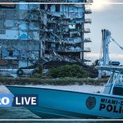 L'immeuble effondré en Floride démoli avant l'arrivée de la tempête Elsa