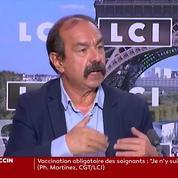 Vaccination obligatoire : «il vaut mieux convaincre que contraindre», estime Philippe Martinez