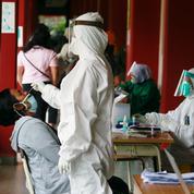 Covid-19 : 728 morts en Indonésie en 24 heures, un record